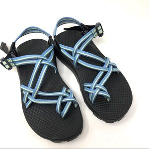 Chaco ZX2 vibram sole blue